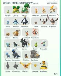 Pokemon Go Evolve Chart Gen 4 Www Bedowntowndaytona Com