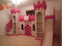 princess bunk beds with slide. Delighful Princess Bedroom Attractive Pink Princess Bunk Bed For Girls In With  Staircase And Slide The Inside Beds I