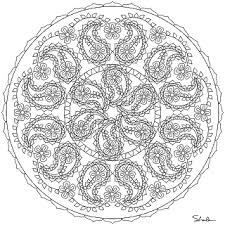 Small Picture Dont Eat the Paste Paisley Mandala Coloring Page Creative