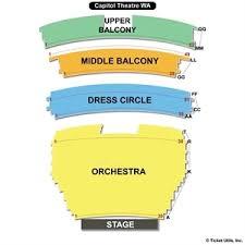 capitol theatre yakima seating charts