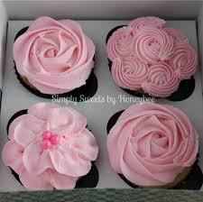 11 Cupcakes Decorated Like Flowers Photo Spring Flower Cupcake