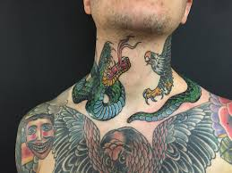 Traditional Tattoo With Snake And Eagle Page 13
