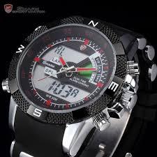 men glamorous mens digital steel sport wrist watch black dial alluring shark mens digital analog lcd date alarm chronograph backlight reebok watch for mensteel sh new