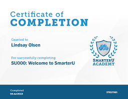 Completion Certificates Customize Your Smarteru Course Completion Certificates