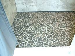 full size of install a ceramic tile shower floor pan without replacing best bathrooms enchanting pebble