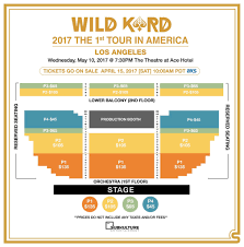 Ace Hotel Los Angeles Seating Chart Subk Releases Seating Charts For K A R Ds 1st Us Tour