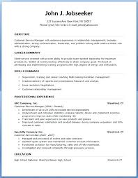 Sample Resumes For Experienced Professionals It Resume Template Word