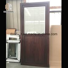 solid oak wood front entrance door