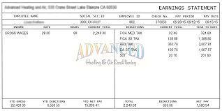 Sample Check Stub Template For Pay Stubs Real Sample Pay Stub Instant Online Pay Stubs