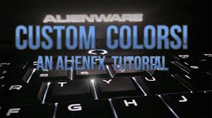 How To Change Light Color On Alienware Laptop How To Change Alienware Leds To Any Color Alienfx Tutorial