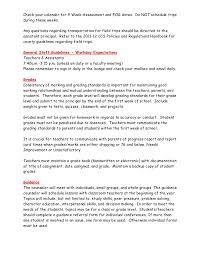 essay about teachers job report