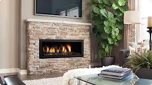regency horizon hz40e medium contemporary fireplace volcanic rocks