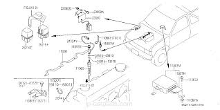 1989 Nissan Pickup Ignition Diagram