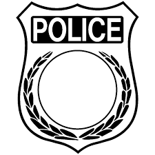 Small Picture Police Badge Coloring Page zimeonme