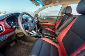 2018 kia interior. wonderful kia 2018 kia rio interior from driver door zach gale april 12 2017 and kia