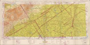 Restricted Charlotte Sectional Aeronautical Chart