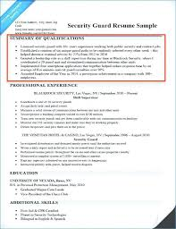 Security Officer Resume Magnificent Armed Security Officer Resume Inspirational Stock Security Guard