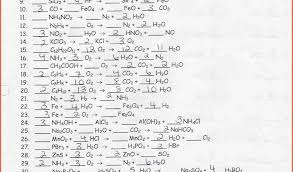 balancing chemical equations worksheet 1 awesome balancing chemical equations worksheet pdf balancing chemical