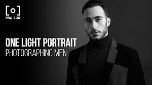 One Light Setup For Photography One Light Portrait Setup With Jeff Rojas