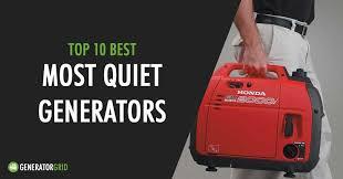 Top 10 Quietest Portable Generators Under 65db Reviews