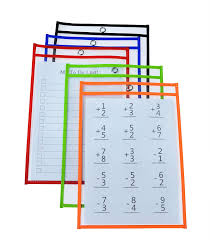 Pocket Chart Rings 3 Metal Rings Included Office Products Pocket Charts Dry