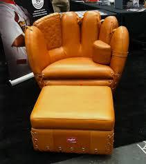 baseball glove chairs com crown mark