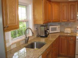 Small Picture Cool Kitchen Paint Colors With Oak Cabinets And White Appliances
