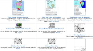 Map Skills Worksheets from Enchanted Learning – Home Education ...