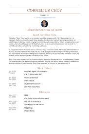 enrolled agent tax preparer resume samples - Tax Preparer Resume