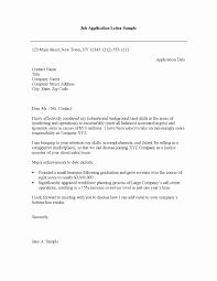 Job Application Cover Letter Format Creative Resume Examples