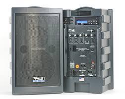 sound system battery. battery powered wireless pa system rental sound
