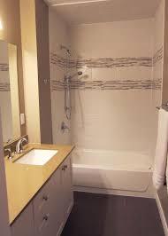one piece bathtub surround unit shower stall menards kohler sonata