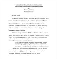 prenup samples prenuptial agreement 8 download documents in pdf