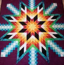 Native American Star Quilt Pattern