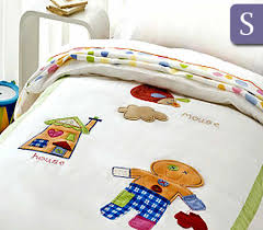 Happy Kids Gingerbread Man Collection 250TC Single Bed Quilt Cover ... & Happy Kids Gingerbread Man Collection 250TC Single Bed Quilt Cover Set Adamdwight.com