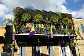mardi gras balcony stock photo image of home decoration 8076472