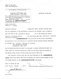 Sworn Statement Example Sworn Statement Example Letter Best Photos Of Sample Affidavit 12