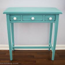 table makeover using annie sloan chalk paint in provence tutorial with step by step breakdown