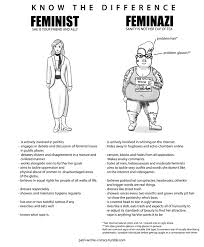 the difference between a feminist and a feminazi feminism know the difference between a feminist and a feminazi