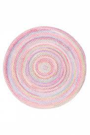 fancy pink braided rug for your residence inspiration