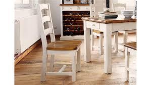 Stuhl Bodde In Kiefer Massiv Weiß Honig Landhausstil