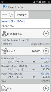 Simple Invoice Manager For Android Free Download