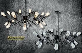 loft rotterdam industrial rock pendant lighting. Industrial Home Lighting Spider Octopus Loft Style Vintage Pendant Lights For Bar Cafe Rotterdam Rock N