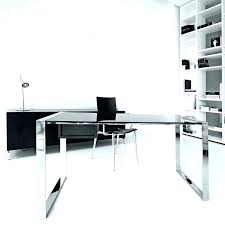 office glass tables. Modern Desk Table Design Medium Size Of With Hutch Computer Ideas Office Glass Tables