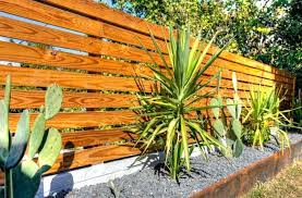 horizontal wood fence panel.  Wood Modern Horizontal Wood Fence With Plants Around  Panels Inside Horizontal Wood Fence Panel