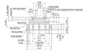 Micro Usb Design Pcb Design Non Round Through Hole Issues For Micro Usb