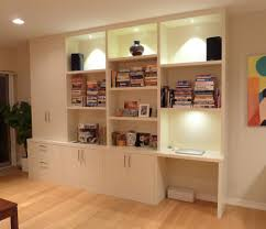 home office storage systems. Modern Storage System With Desk Attached To Wall Home Office Systems