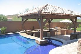 Impressive Pool Designs With Bar Swimup In Chandler D On Perfect Ideas