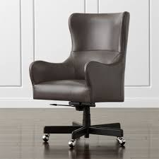 crate and barrel office furniture. Liv Upholstered Wingback Office Chair Reviews Crate And Barrel With Regard To Decor 1 Furniture