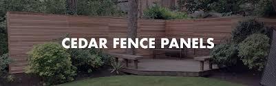western red cedar fence panels cedar